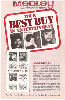 Medley (RCA Music Service) / Your Best Buy in Entertainment | Catalog | Vol. 13 | 1982