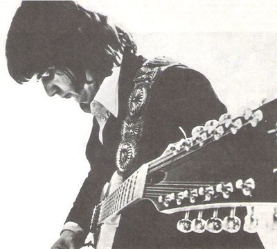 Miller, Steve / Head Down - Playing Double Neck Gibson Guitar | Magazine Photo | 1977