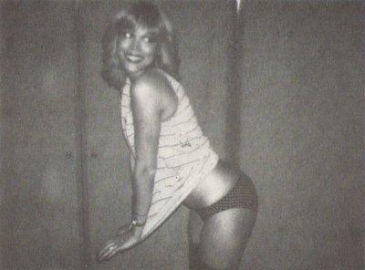 Lear, Amanda / Striped Shirt - Bikini Bottom | Magazine Photo | Undated