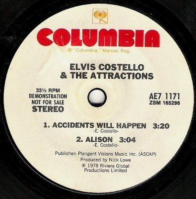 Costello, Elvis (+ The Attractions) / Live at Hollywood High | Columbia AE7-1171 | EP, 7