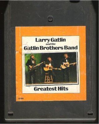 Gatlin, Larry / Greatest Hits | Columbia JCA-36488 | Light Black Shell | 8-Track Tape | 1980 | with The Gatlin Brothers Band