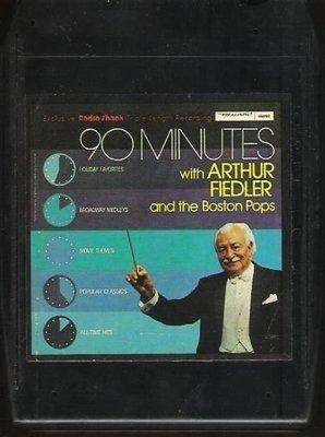 Fiedler, Arthur (+ The Boston Pops) / 90 Minutes | Polydor 51-1015 | Black Shell | 8-Track Tape | 1976