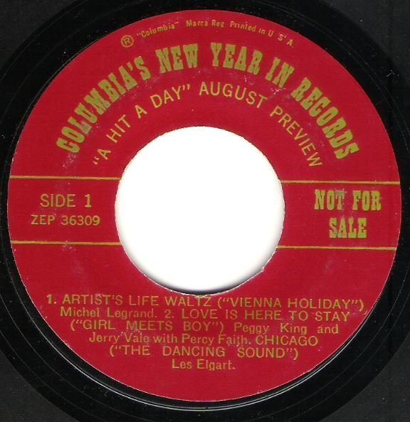 """Various Artists / Columbia's New Year In Records - """"A Hit a Day"""" August Preview 