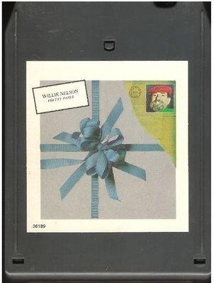 Nelson, Willie / Pretty Paper | Columbia JCA-36189 | Light Black Shell | 8-Track Tape | November 1979