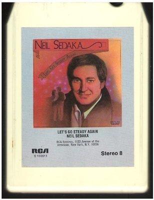 Sedaka, Neil / Let's Go Steady Again | RCA S-133511 | White Shell | 8-Track Tape | 1976