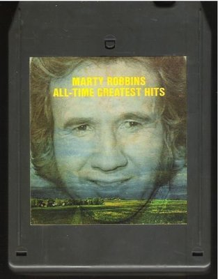 Robbins, Marty / All-Time Greatest Hits | Columbia CGA-31361 | Light Black Shell | 8-Track Tape | 1972