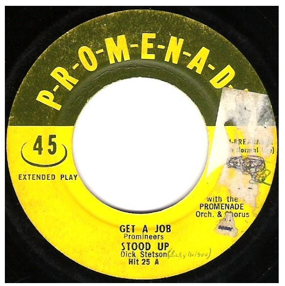 "Various Artists / Get a Job + 3 | Promenade HIT-25 | EP, 7"" Vinyl 