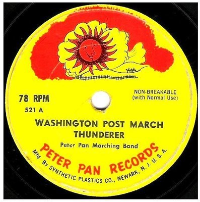 Peter Pan Marching Band / Marching Songs | Peter Pan Records 521 | EP, 7