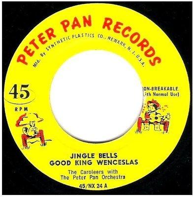 Caroleers, The / Jingle Bells + 2   Peter Pan Records 45/NX-24   EP, 7