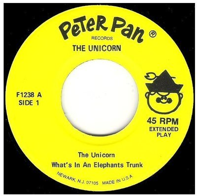 Uncredited Artists / The Unicorn | Peter Pan Records F-1238 | EP, 7