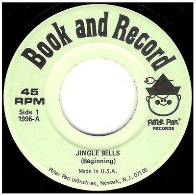 Uncredited Artists / Jingle Bells   Peter Pan Records 1995   Single, 7