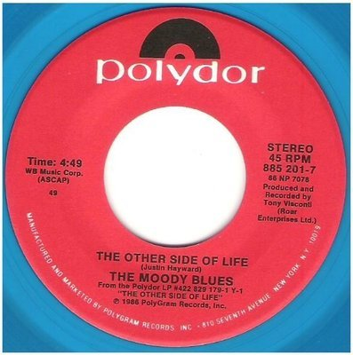 Moody Blues, The / The Other Side of Life | Polydor 885 201-7 | Single, 7