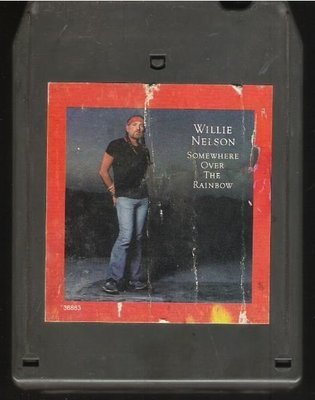 Nelson, Willie / Somewhere Over the Rainbow | Columbia FCA-36883 | Light Black Shell | 8-Track Tape | February 1981