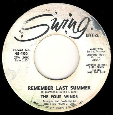 Four Winds, The / Remember Last Summer | Swing 45-100 | Single, 7
