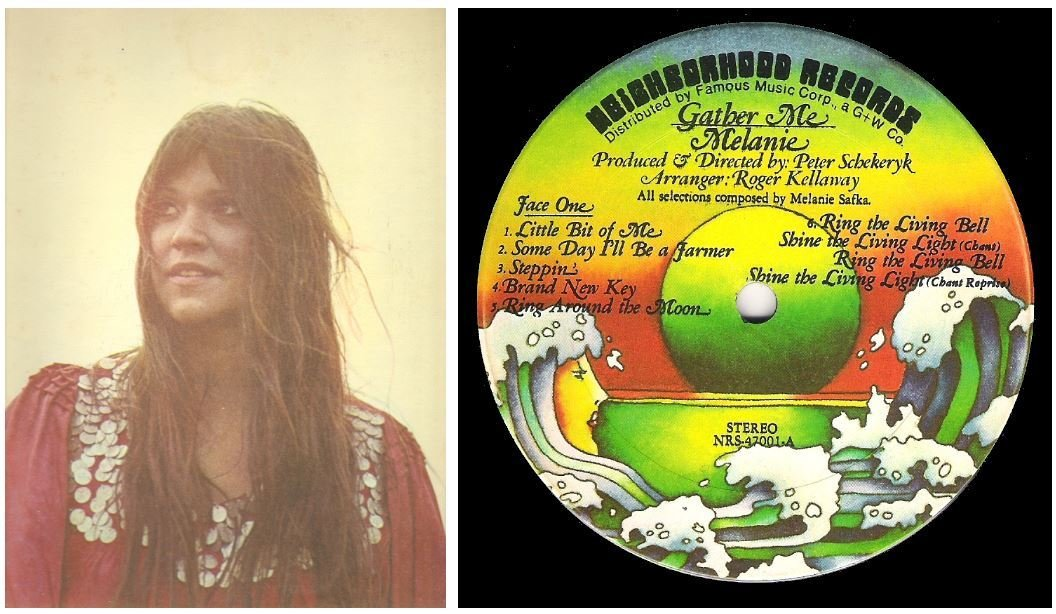 "Melanie / Gather Me | Neighborhood NRS-47001 | Album (12"" Vinyl) 