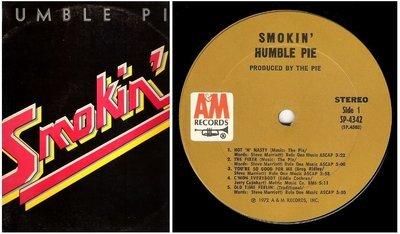 Humble Pie / Smokin' | A+M SP-4342 | Album (12
