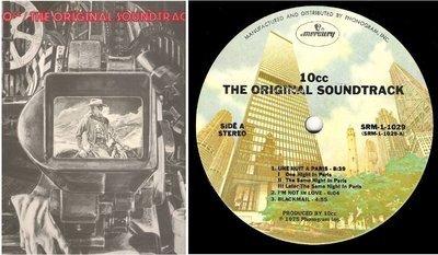 10cc / The Original Soundtrack | Mercury SRM-1-1029 | Album (12