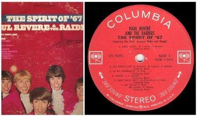 Revere, Paul (+ The Raiders) / The Spirit of '67 | Columbia CS-9395 | Album (12