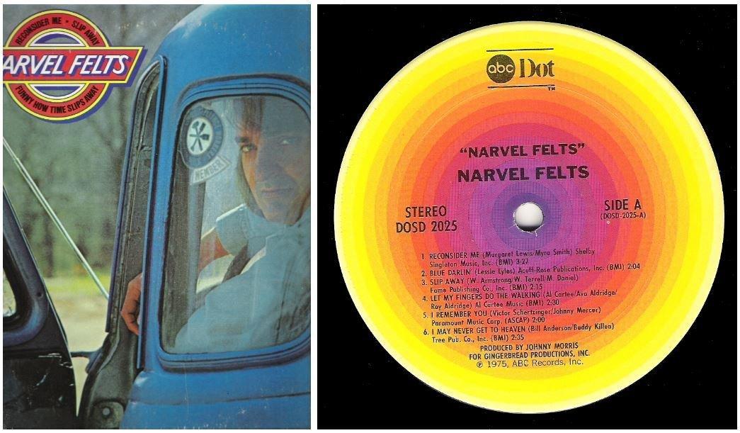 "Felts, Narvel / Narvel Felts | ABC Dot DOSD-2025 | Album (12"" Vinyl) | 1975"