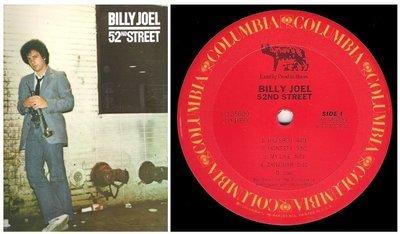 Joel, Billy / 52nd Street | Columbia FC-35609 | Album (12