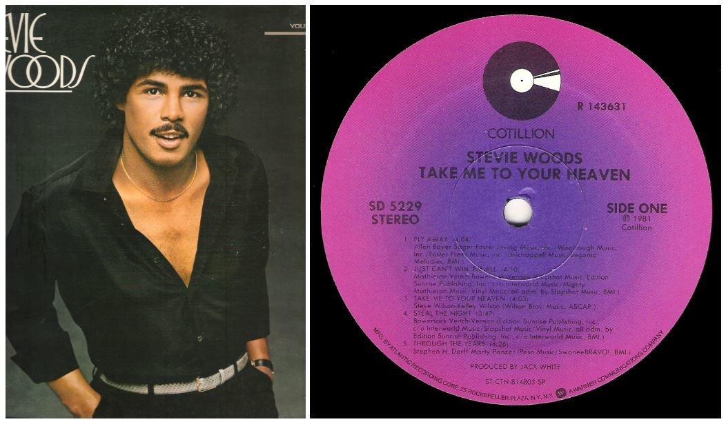 "Woods, Stevie / Take Me To Your Heaven | Cotillion SD-5229 | Album (12"" Vinyl) | 1981"