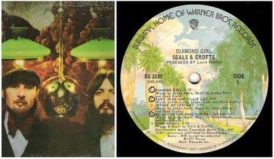 Seals + Crofts / Diamond Girl | Warner Bros. BS-2699 | Album (12