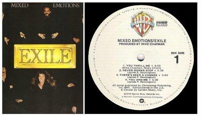 Exile / Mixed Emotions | Warner Bros. BSK-3205 | Album (12