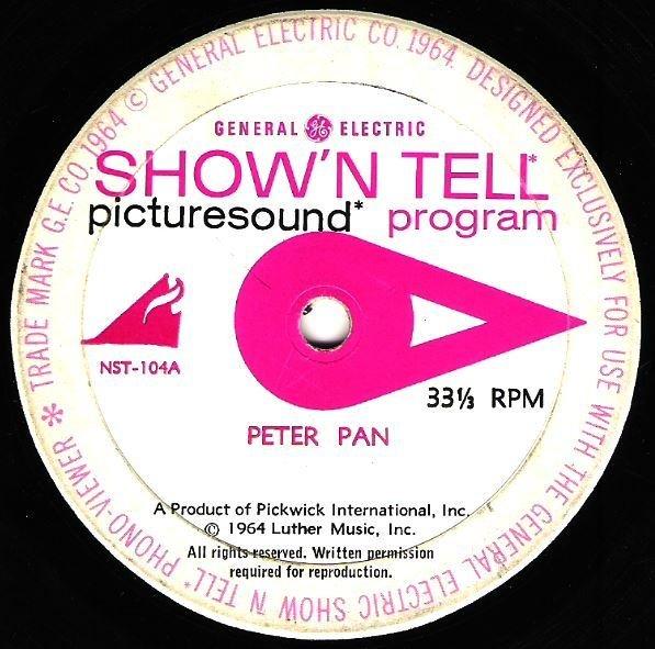 "Show 'N Tell / Peter Pan | General Electric NST-104 | EP, 7"" Vinyl | 1964"