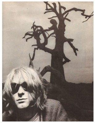 Cobain, Kurt / Wearing Sunglasses, Sweater - Australia | Magazine Photo | April 1992