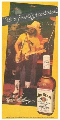 Williams, Hank (Jr.) / Jim Beam - It's a Family Tradition | Magazine Ad | October 1981