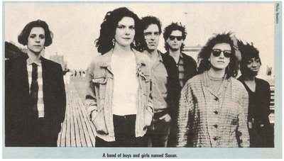 Band of Susans / A Band of Boys and Girls Named Susan | Magazine Photo | December 1987