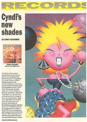 Lauper, Cyndi / True Colors | Magazine Review | September 1986