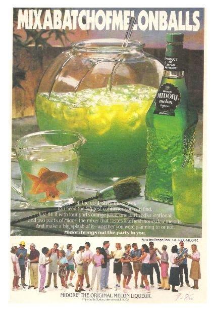 Midori / Melon Liqueur | Magazine Ad | September 1986