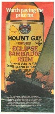 Mount Gay / Eclipse Barbados Rum | Magazine Ad | May 1983