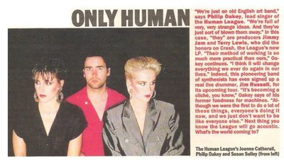 Human League, The / Only Human | Magazine Article | May 1983