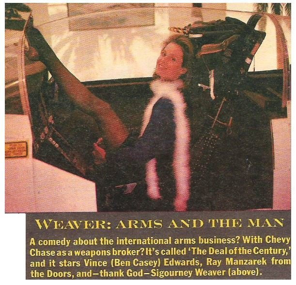 Weaver, Sigourney / Weaver: Arms and the Man | Magazine Article | July 1983