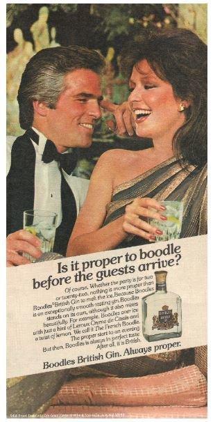 Boodles / British Gin | Magazine Ad | July 1983