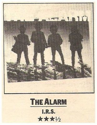 Alarm, The / The Alarm | Magazine Review | July 1983 | by Steve Pond