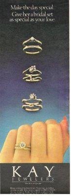 Kay Jewelers / Bridal Sets | Magazine Ad | July 1983