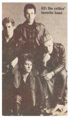 U2 / U2: The Critics' Favorite Band | Magazine Photo | March 1984