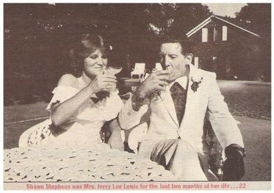 Lewis, Jerry Lee / Shawn Stephens Was Mrs. Jerry Lee Lewis... | Magazine Photo | March 1984