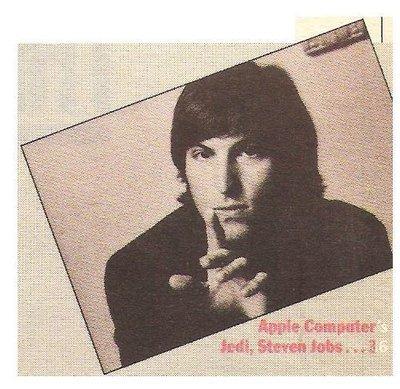 Jobs, Steve / Apple Computer Jedi, Steven Jobs | Magazine Photo | March 1984