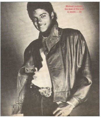 Jackson, Michael / Michael Jackson Is the Man of the Year in Music | Magazine Photo | March 1984