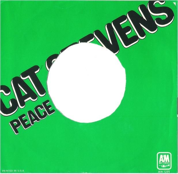 Stevens, Cat / Peace Train | A+M AM-1291 | Picture Sleeve | September 1971