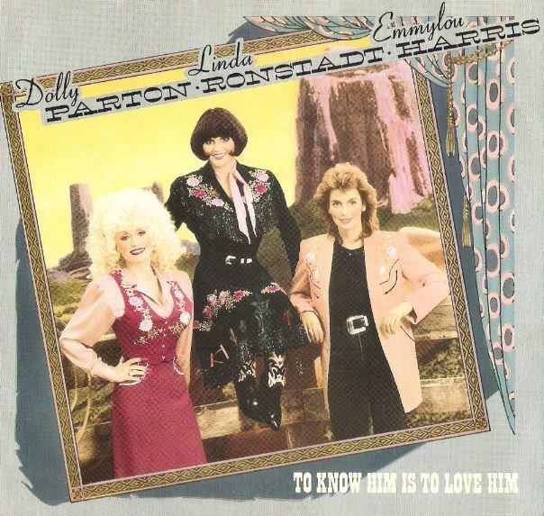 Parton, Dolly / To Know Him Is to Love Him | Warner Bros. 28492-7 | Picture Sleeve | January 1987 | with Linda Ronstadt + Emmylou Harris
