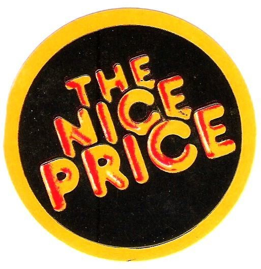 CBS / The Nice Price | Sticker | 1981
