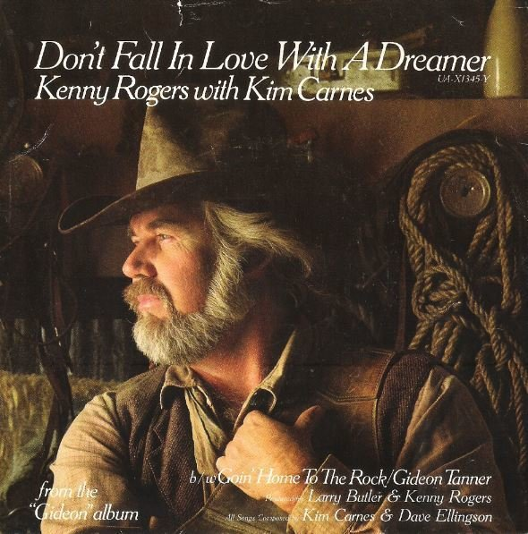 "Rogers, Kenny / Don't Fall in Love with a Dreamer | United Artists UA-X1345-Y | Single, 7"" Vinyl 