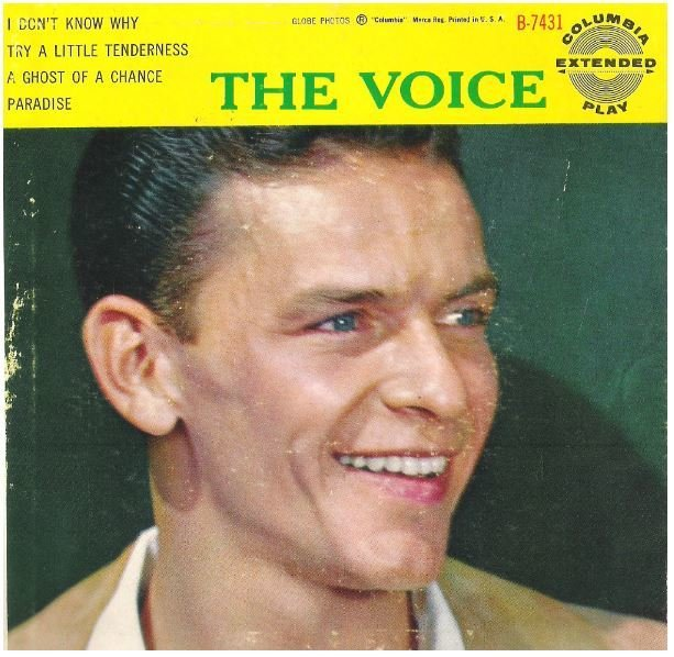"Sinatra, Frank / The Voice | Columbia B-7431 | EP, 7"" Vinyl 