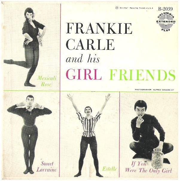 "Carle, Frankie / Frankie Carle and his Girl Friends | Columbia B-2039 | EP, 7"" Vinyl 