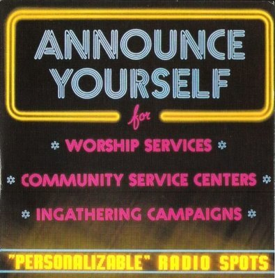 Seventh-Day Adventist Church / Announce Yourself II | Sunspot SP-1051 | EP, 7